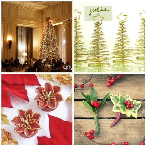 Christmas Wedding Theme Ideas: Christmas In July!