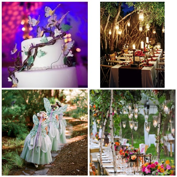 Wedding Theme- Midsummer Night\'s Dream - Apropos Creations