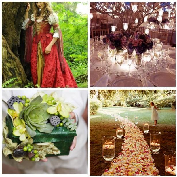 Wedding Theme- Midsummer Night\'s Dream - Apropos Creations