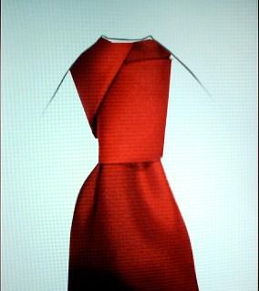 Diagonal Knot Tie 1